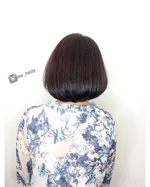 短髮BOB+巧克力色