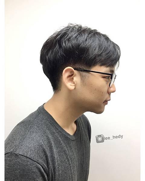 韓風~自然 彈性 線條燙