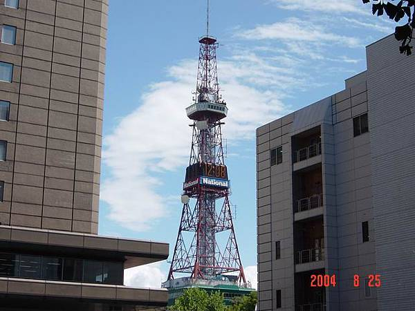 2004. 08. 25 札幌