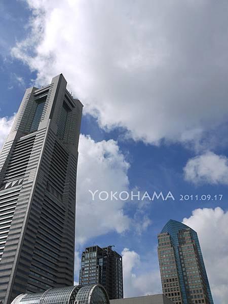 Landmark Tower and the sky.