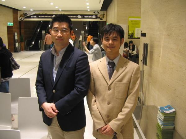 既晴大哥與玉田先生