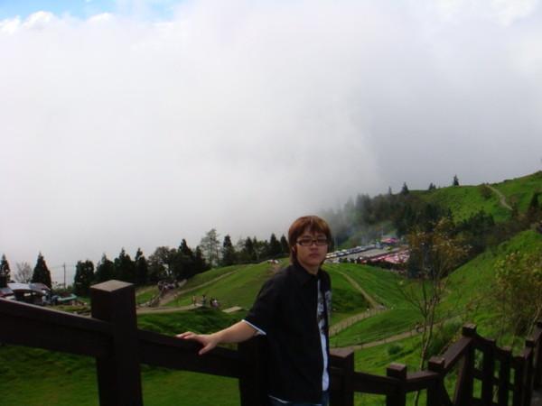 身在雲中就是這樣的感覺,愉快