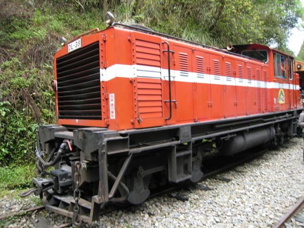 見阿里山小火車的最後一面