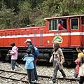 那天火車真的擠到爆!