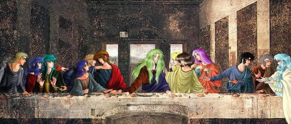 最後的晚餐,聖域版