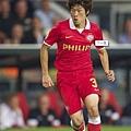 8/21歐冠資格賽PSV1:1AC米蘭  懷念朴智星