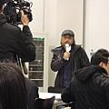 2014/3/7勞倫斯‧卜洛克記者會現場唐諾先生!
