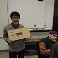 好兄弟小傑的書盒簽名版與卜洛克老師