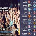 2014-15 新賽季英超聯賽第一輪