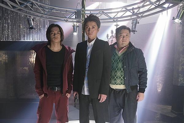 2014電影《三分之一:逆轉賭局》三位搶銀行的主角