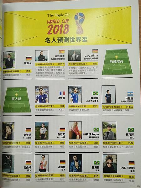 足球王者名人預測世界盃單元1