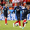 2018年世界盃小組賽第二輪法國1:0祕魯:法國變陣讓格里茲曼回到最舒服的位置,果然踢出堪稱是本屆世界盃豪門球隊最流暢華麗的一個半場。.jpg
