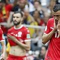 2018年世界盃小組賽第二輪比利時5:2突尼西亞:突尼西亞雖然被淘汰,但最後對巴拿馬之戰還是要全力求勝,中止世界盃連續13場球賽不勝的難堪紀錄。