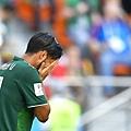 2018年世界盃小組賽第三輪墨西哥0:3瑞典:小組賽先奪2勝的墨西哥玩壞一手好棋,雖然締造連續七屆世界盃晉級16強的偉業,卻也落入魔鬼左半部賽程,16強首戰就要強碰巴西。