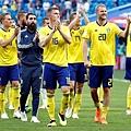 2018世界盃16強淘汰賽瑞典1:0瑞士:世足16強戰,瑞典1:0擊敗瑞士,取得晉級門票,距離上次進8強相隔24年。