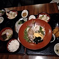 五色素麵、鯛魚飯與鯛魚麵線套餐