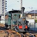 日本松山市的「少爺列車」