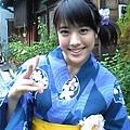 福田沙紀和服照
