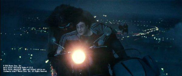 《死神的聖物Ⅰ》中飛車追逐劇照