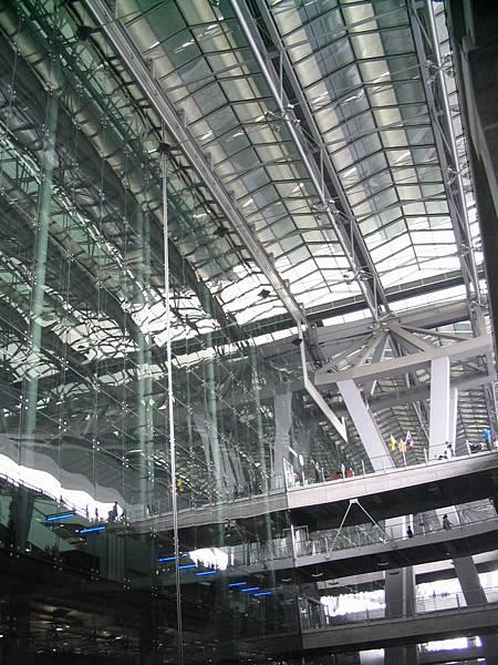 曼谷Suvarnabhumi機場一隅