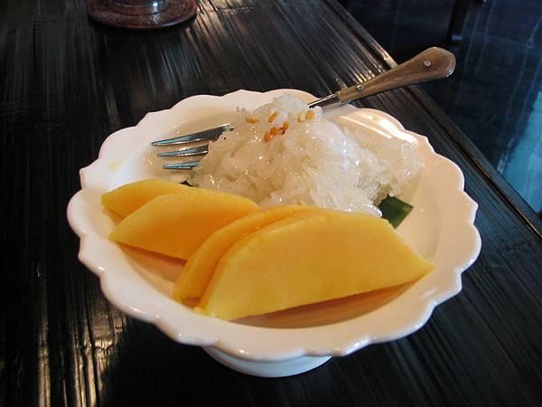 開胃點‧芒果甜糯米