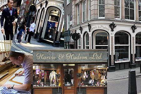 英國倫敦Jermyn Street紳士名店