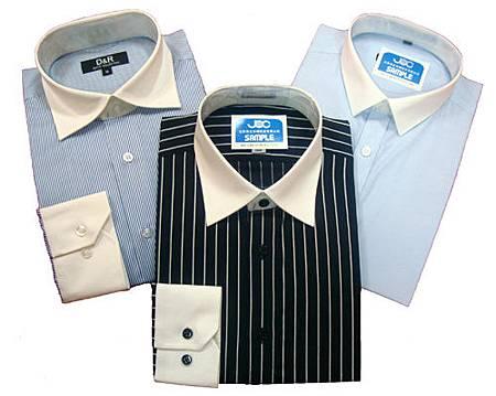 五種經典男性襯衫領型