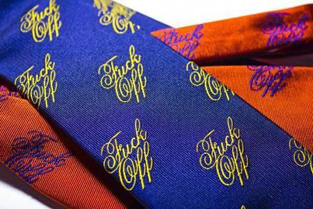 美國McNairy品牌Logo領帶