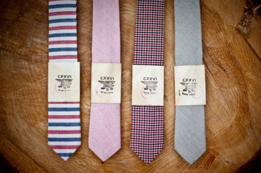 紐約CXXVI窄版領帶Holiday風尚