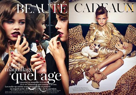 法國十歲模特兒Thylane Lena-Rose Blondeau