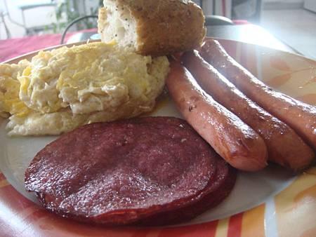 吃在法國隨便吃:英式早餐