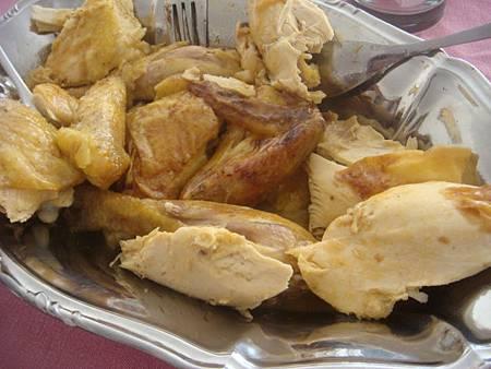 烤全雞佐西打咖哩醬汁