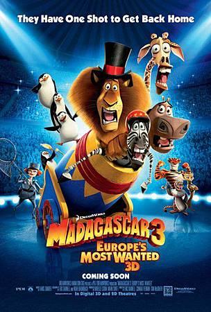 馬達加斯加3:歐洲大圍捕     Madagascar 3: Europe