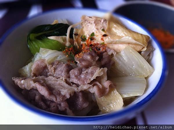 boeuf sukiyaki
