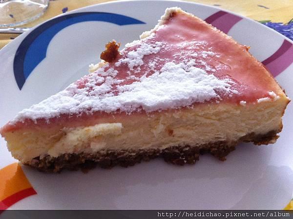cheesecake a la vanille