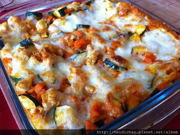 lasagnes aux legumes rotis