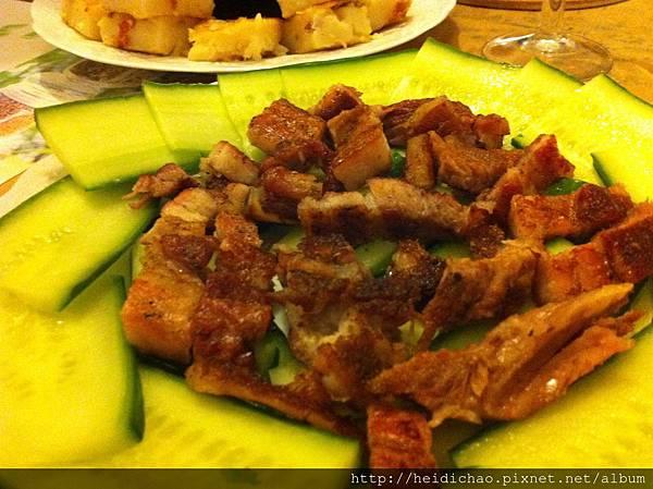 超簡單鹹豬肉