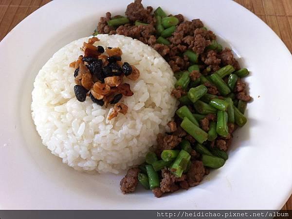 辣椒炒豆豉蘿蔔乾