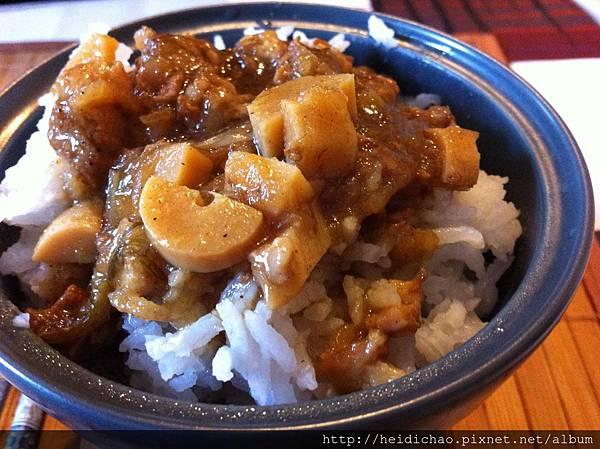 竹筍滷肉飯 (3)
