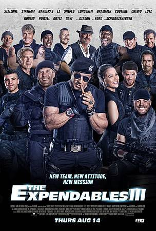 浴血任務3  The Expendables 3