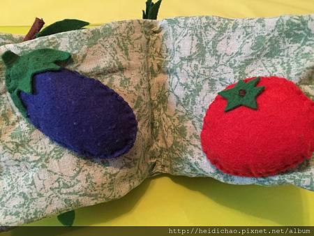 蔬菜水果布書