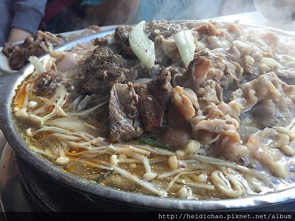 韓江銅盤烤肉吃到飽