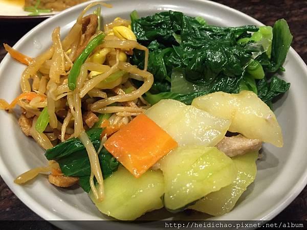 金仙排骨飯