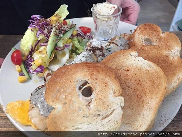 桔梗三明治歐式早午餐