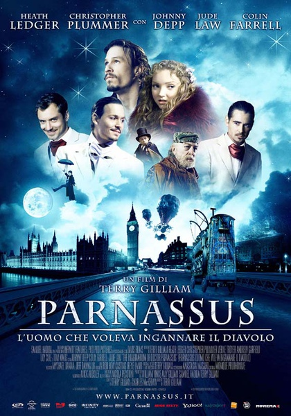 帕納大師的魔幻冒險 the imaginarium of doctor parnassus