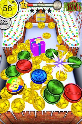coin dozer-Christmas