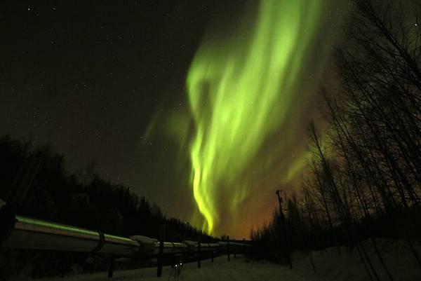 阿拉斯加 北極光