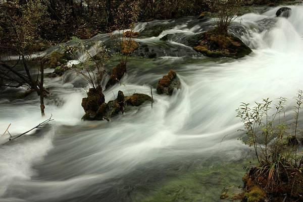 九寨溝 樹正瀑布