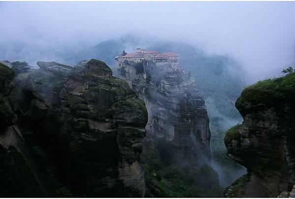 希臘 美堤歐拉山谷 浮懸修道院
