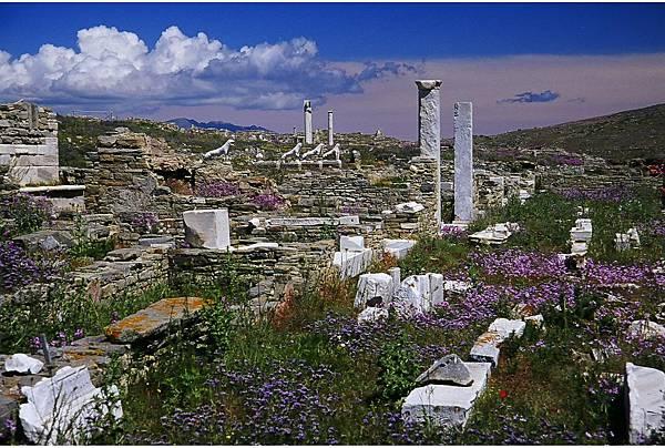 希臘 愛琴海 堤洛島